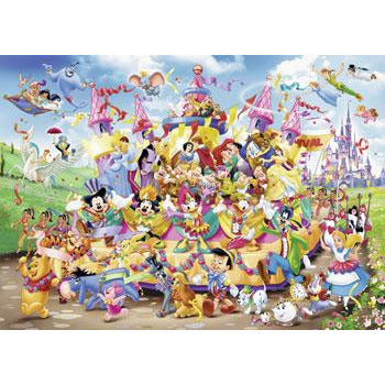 Ravensburger Disney Carnival Characters Puzzle 1000 Piece Jigsaw Puzzle - Get Puzzled