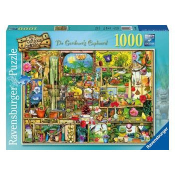 Ravensburger  The Gardener's Cupboard Puzzle 1000 Piece Jigsaw Puzzle - Get Puzzled