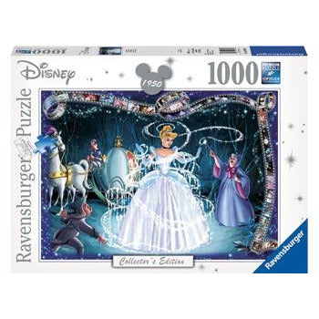 Ravensburger Disney Moments 1950 Cinderella 1000 Piece Jigsaw Puzzle - Get Puzzled