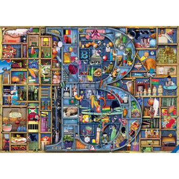 Ravensburger Awesome Alphabet B Puzzle 1000 Piece Jigsaw Puzzle - Get Puzzled