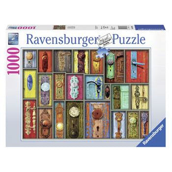 Ravensburger Antique Doorknobs Puzzle 1000 Piece Jigsaw Puzzle - Get Puzzled
