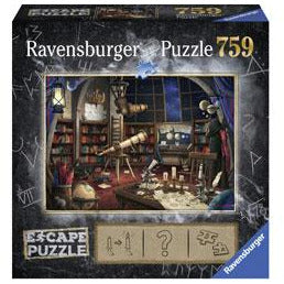 Ravensburger ESCAPE 1 The Observatory Puzzle 759 Piece Jigsaw Puzzle - Get Puzzled