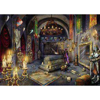 Ravensburger ESCAPE 6 Vampire Castle 759 Piece Jigsaw Puzzle - Get Puzzled