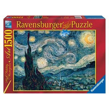 Ravensburger - Van Gogh Starry Night 1500 Piece Puzzle - Get Puzzled