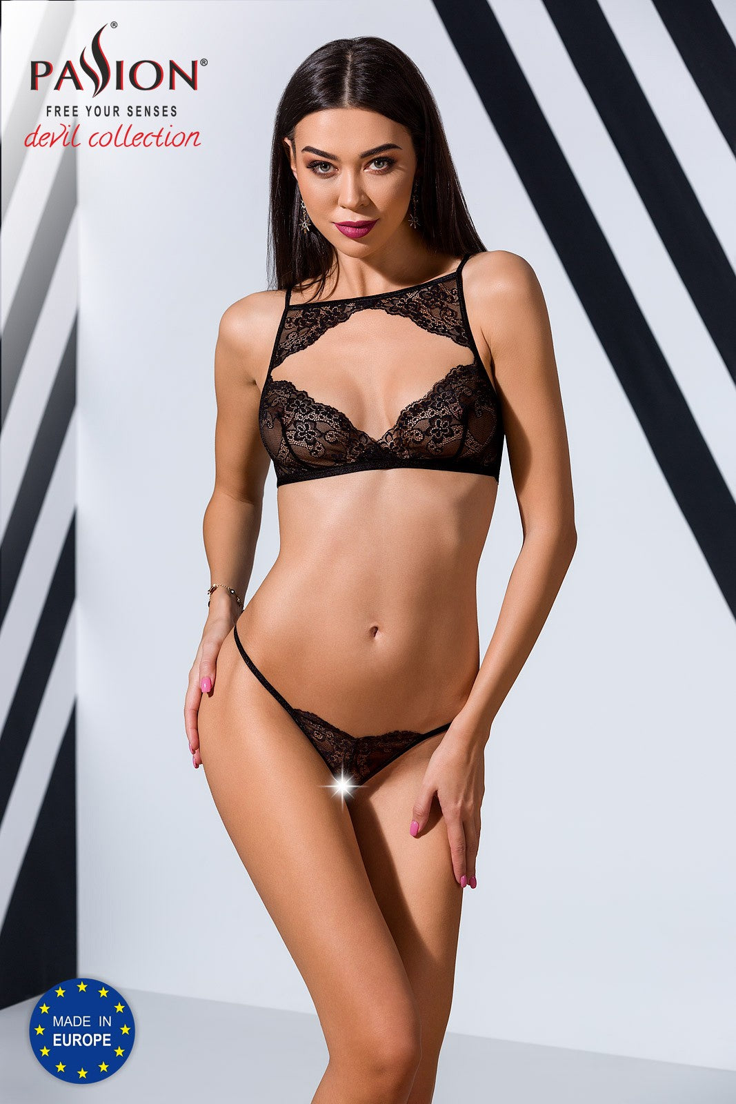 Veronique Ensemble 2 pcs - Noir