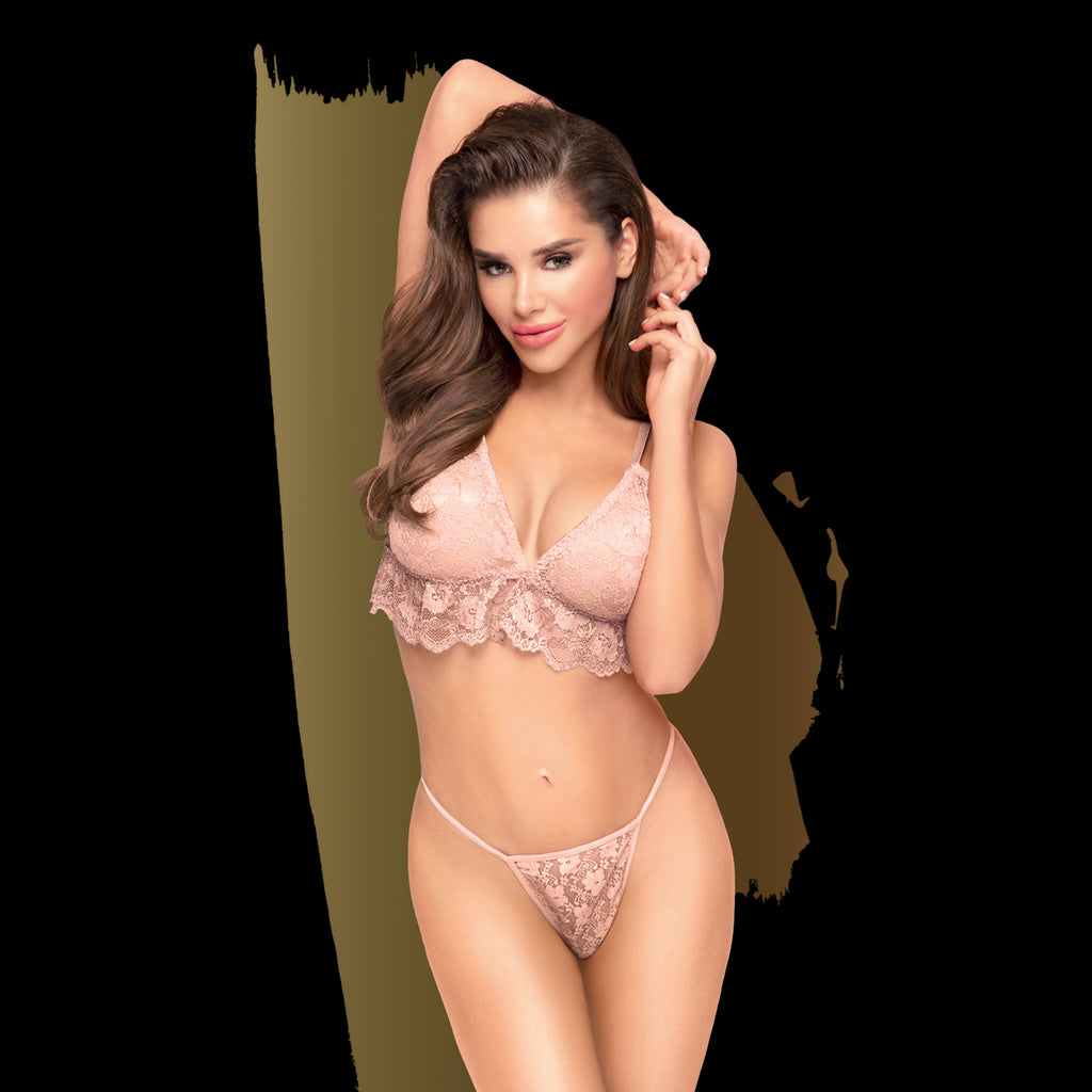 Double spice Ensemble 2 pcs - Nude