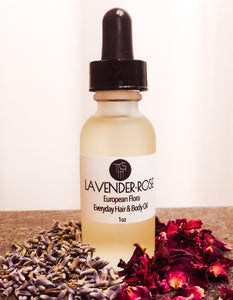 Lavender Rose Face and Hair Oil