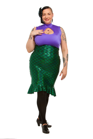 Mermaid Booty Wiggle Skirt