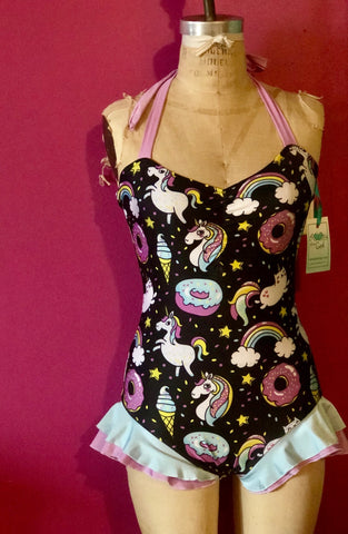 Caticorns and Ruffles! Swimsuit