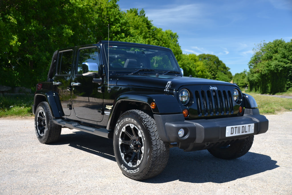 SOLD Wrangler - Sahara Unlimited