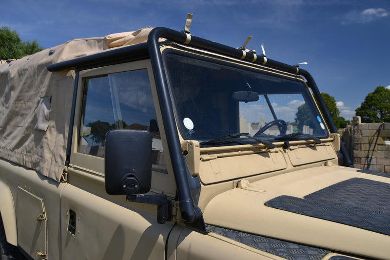 SOLD Defender 110 300 Tdi ex-military soft-top