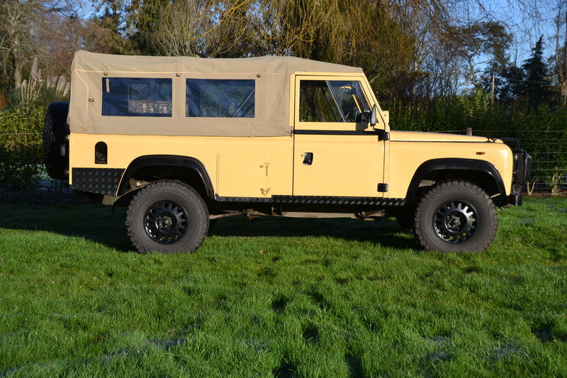 SOLD Land Rover 110 Military Soft Top 2.5D