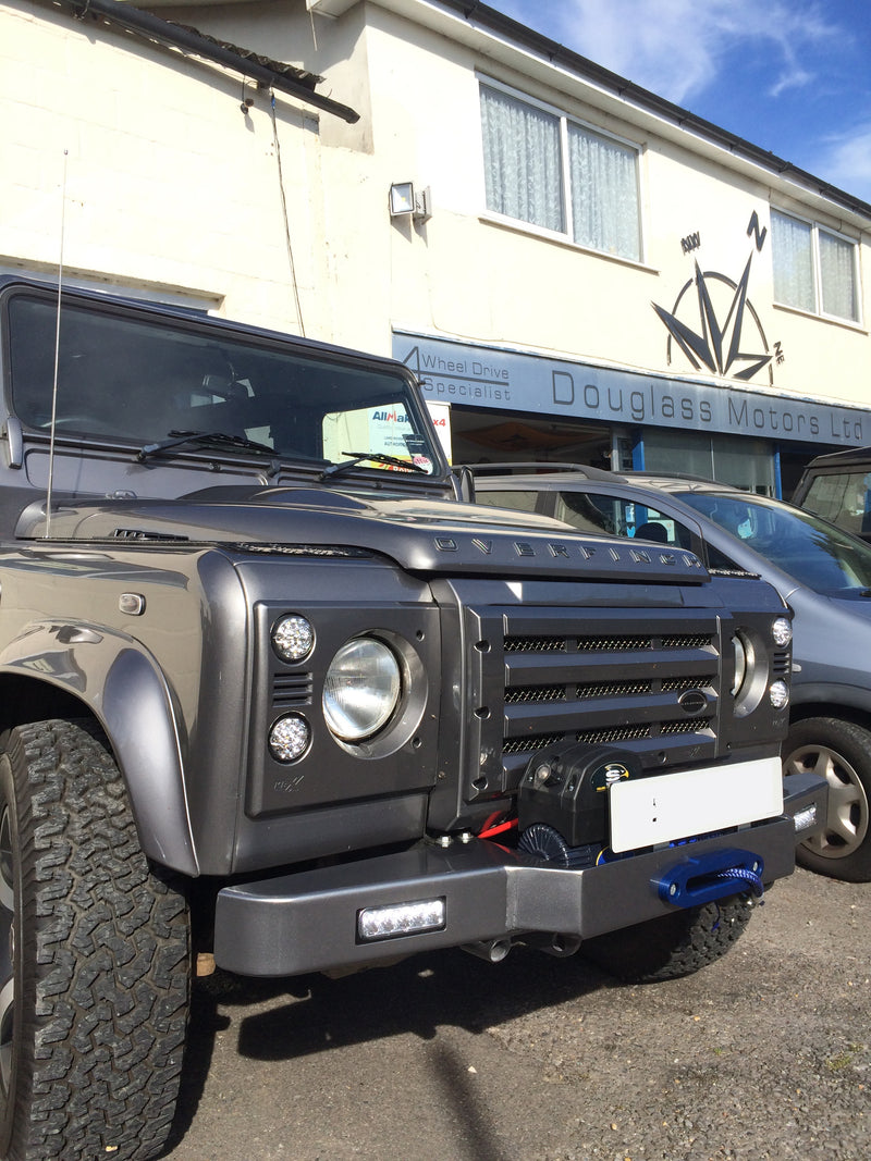 SOLD Land Rover Defender 90 OVERFINCH Bespoke project.