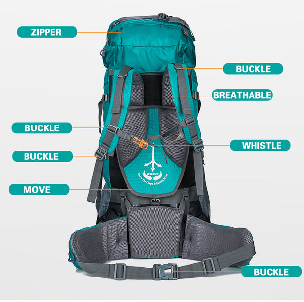 80L Superlight Travel Bag - TravelwithJohnny