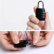 Password Combination Anti-Theft Lock - TravelwithJohnny