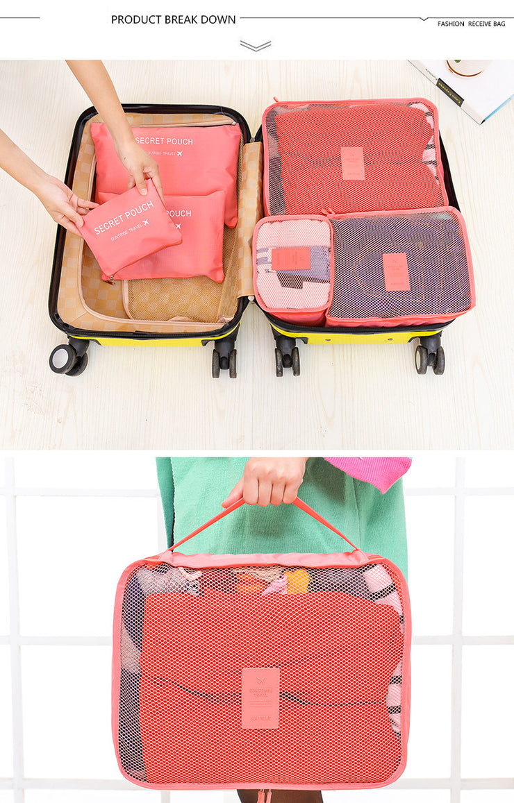 Cube and Pouch Travel Organizer - TravelwithJohnny