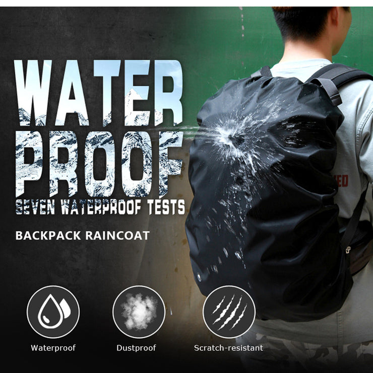 Lightweight Water-resistant Backpack Rain Cover 45L - TravelwithJohnny