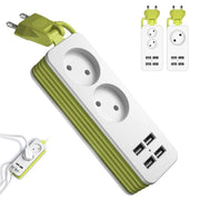 Portable Power Extension Cord - TravelwithJohnny