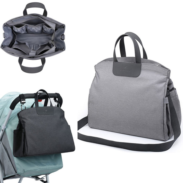 Fashionable 2-Way Diaper Bag - TravelwithJohnny