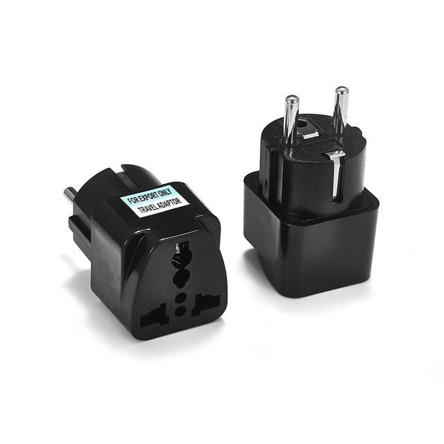 Universal EU Plug Adapter - TravelwithJohnny