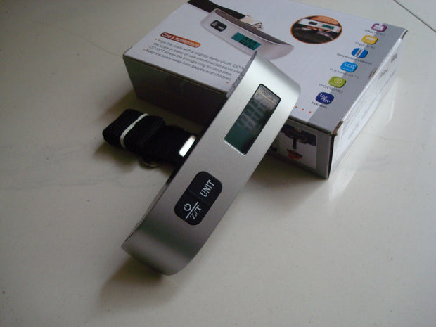 Electronic Luggage Scale - TravelwithJohnny