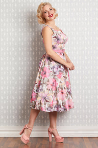 Kaitlin Taffy Swing Dress in rose - Limited edition