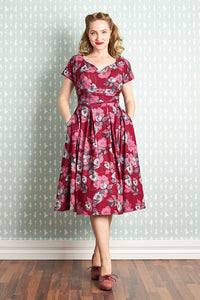 Felicienne Ruby Floral Day Dress
