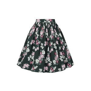 Jasmine Vintage Bloom Swing Skirt