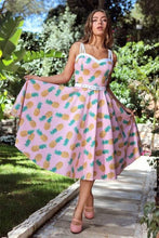 Laden Sie das Bild in den Galerie-Viewer, Nova Pineapple Swing Dress