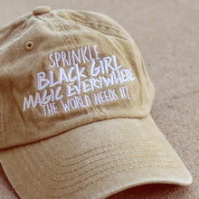 Load image into Gallery viewer, Sprinkle Black Girl Magic Dad Hat