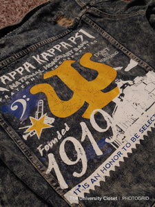 Kappa Kappa Psi Denim Jacket