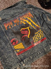 Load image into Gallery viewer, Phi Mu Alpha Denim Jacket