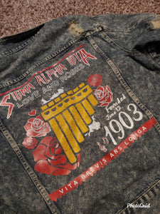 Sigma Alpha Iota Denim Jacket