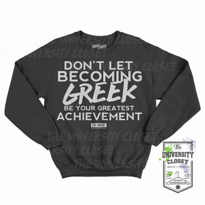 Becoming Greek crew