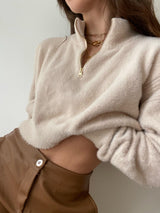 Soft Half Zip Top