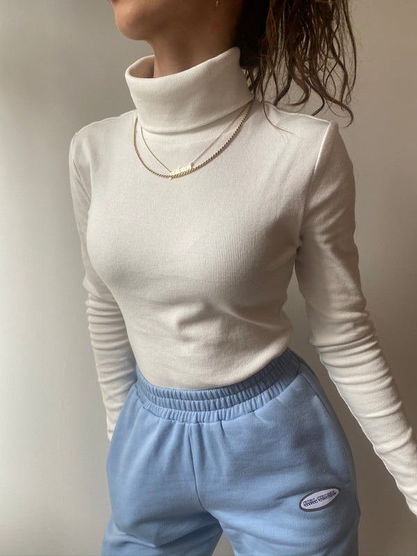 Organic turtleneck