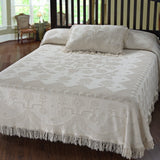 Terry Weave Bedspread (Color: Antique, Style: Martha Washington's Choice)