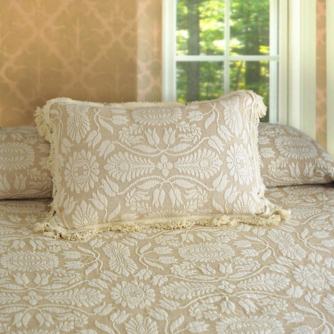 Colonial Rose Pillow Shams