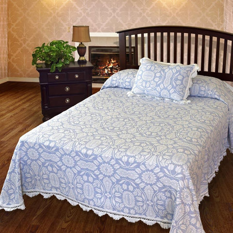 Colonial Rose Bedspread
