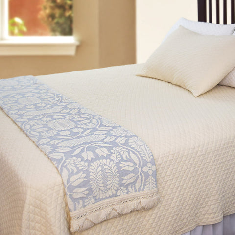 Colonial Rose Throw