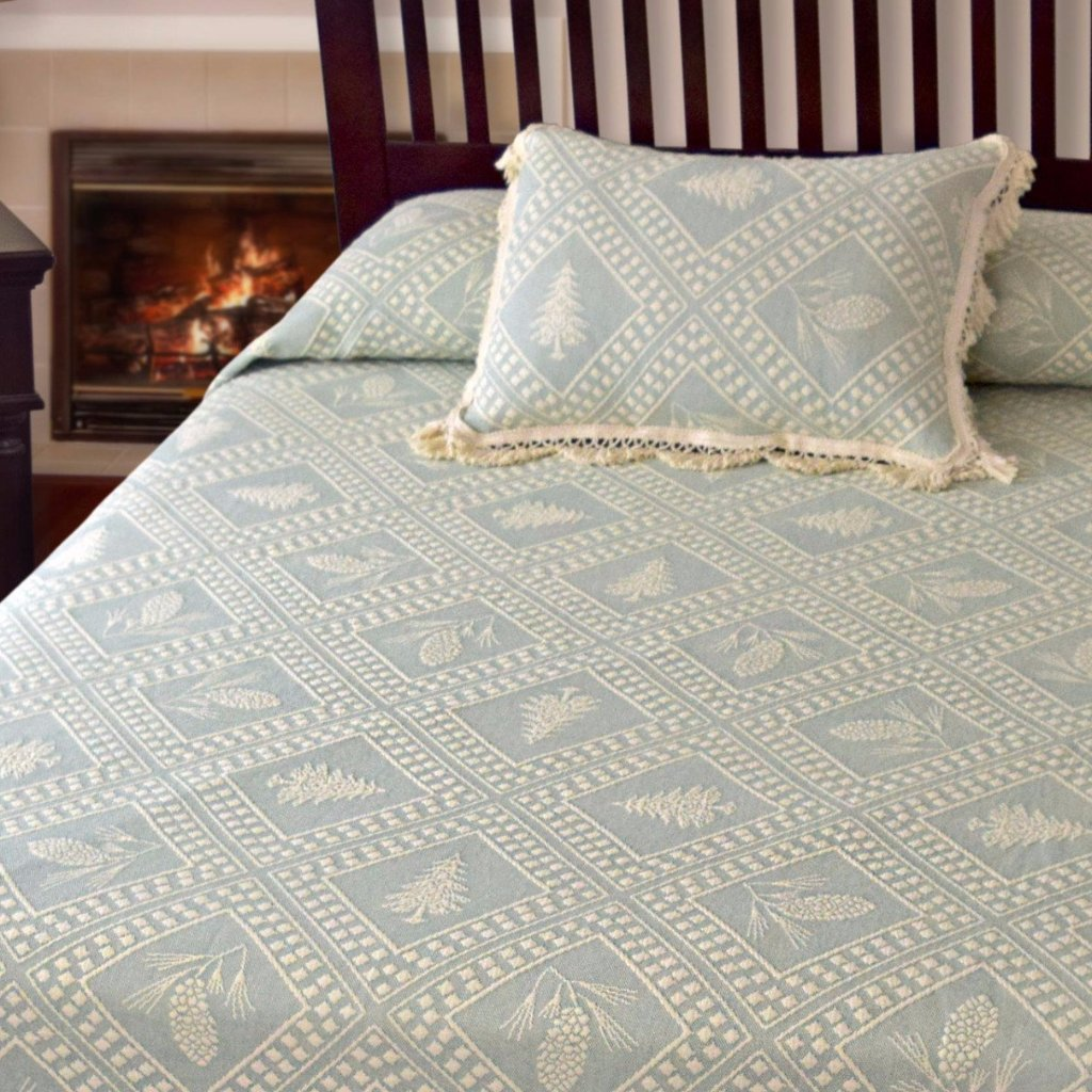 Evergreen Coverlet