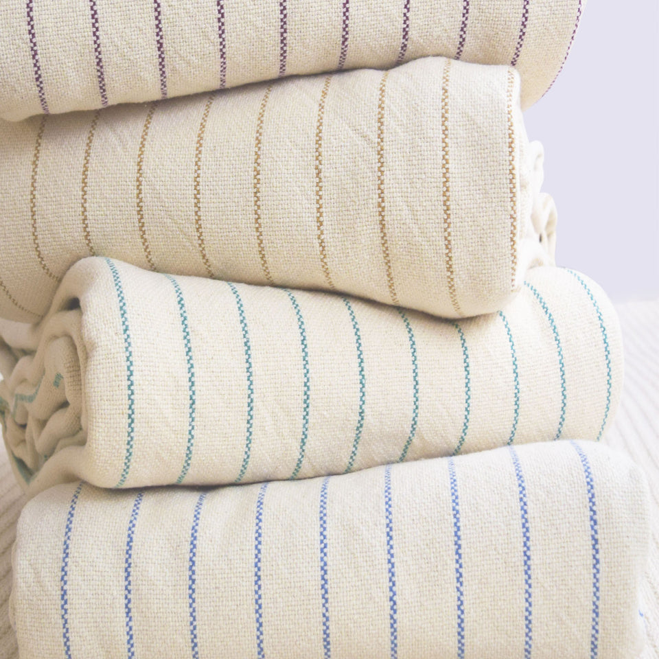 Blankets - Made in USA, Loom Woven & 100% Cotton | Bates