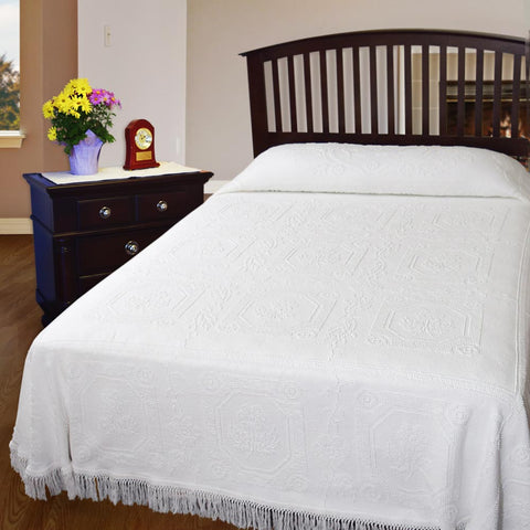 Closeout Window Box Bedspread
