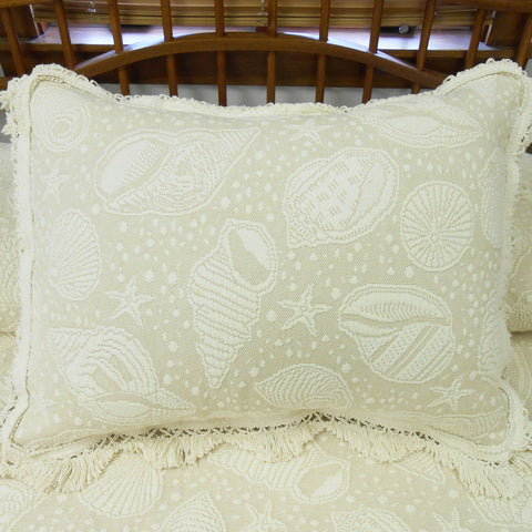Seashell Pillow Shams