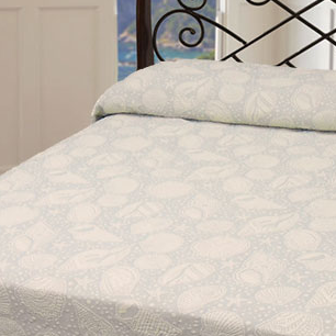 Closeout: Seashell Coverlet