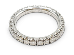 Cartier Platinum Diamond Eternity Band