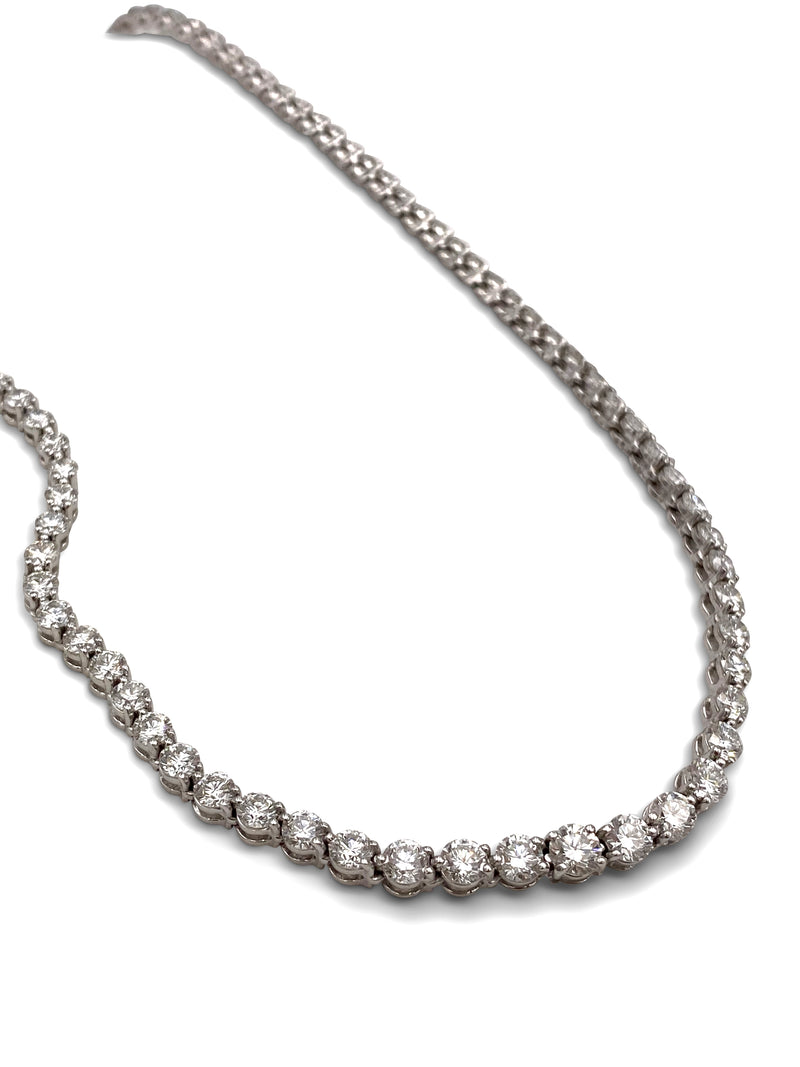 Tiffany & Co. Victoria Platinum Diamond Necklace
