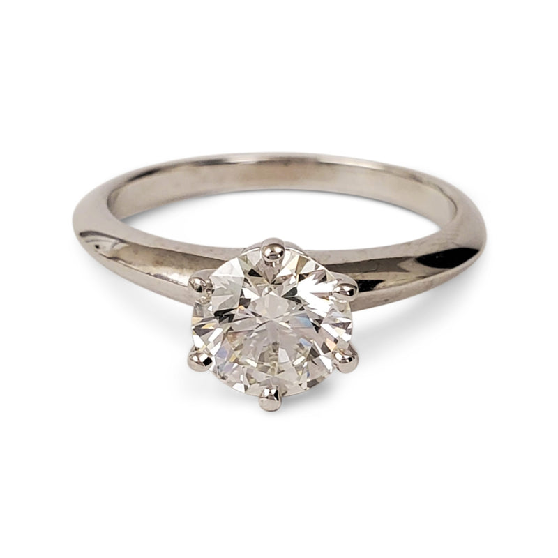 Tiffany & Co. Solitaire 1.06 Carat Diamond Engagement Ring