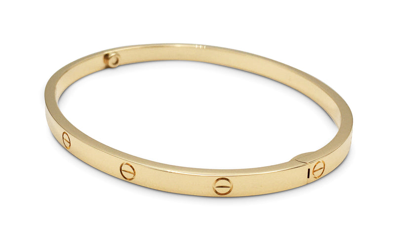 Cartier Love Yellow Gold Bracelet, SM