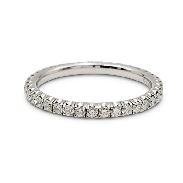 Cartier White Gold Diamond Eternity Band